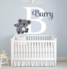 Amazon Com Lovely Decals World Llc Custom Koala Name Wall Decal For Boys Animal Theme Nursery Baby Room Mural Art Decor Vinyl Sticker Ld15 32 W X 22 H Home Kitchen