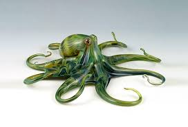 hand blown glass creatures come alive