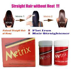 metrix hair strong straightening cream