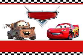 Disney Cars Birthday Invitations Templates Invitaciones De