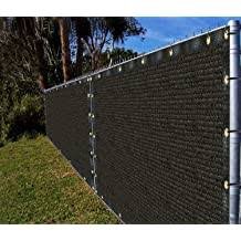 Ifenceview 4 X5 To 4 X50 Black Shade Cloth Fence Privacy Screen Fence Cover Mesh Net For Construction Site Yard Driveway Garden Pergolas Gazebos Canopy Awning Uv Protection 180 Gsm 4 X6 Buy Products