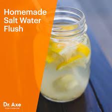 salt water flush recipe dr axe