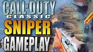 Nine Lives - Sniper Deathmatch Gameplay on Railyard - Call of Duty 2  Multiplayer Gameplay COD2