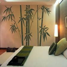 Bamboo Tree Wall Decal Inspiration Vinyl Living Room Decoratorist 82744