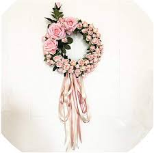 com artificial silk rose lintel