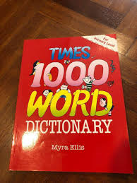 1000 Words Picture Dictionary, Books & Stationery, Children's Books on  Carousell