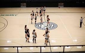 NCAA basketball games at Bowdoin ...
