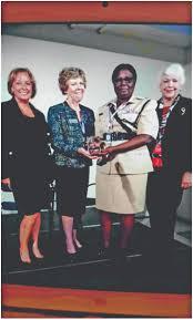 Police's Maxine Graham receives scholarship award - Guyana Times