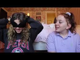 BLINDFOLDED MAKEUP CHALLENGE WITH IRIS!  Liliana Berman - YouTube