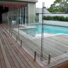 The Popular High Grade Villa Toughened Glass Railing Wholesale Buy Diy Pool Fence Installation Bunnings Glass Fencing Glass Panel Balustrade Product On Alibaba Com