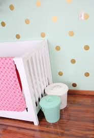 mint c and gold nursery