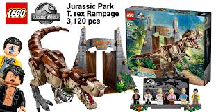 LEGO reveals 75936 Jurassic Park T-Rex Rampage featuring the largest  dinosaur ever in an official set [News]   The Brothers Brick