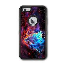 Skin Decal For Otterbox Defender Iphone 6 Plus Case Cosmic Color Galaxy Universe Itsaskin Com