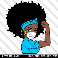 I Love Melanin - African American SVG files for Cricut & Silhouette