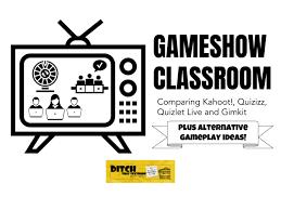 game show classroom comparing kahoot