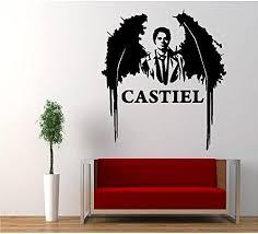 Supernatural Anti Possession Castiel Angel Decal Sticker Catholic Vood Mymonkeysticker Com