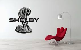 Shelby Cobra Car Large Wall Sticker Decal Decor Auto
