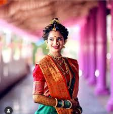 wedding makeup images maharashtrian