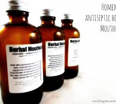antiseptic homemade mouthwash recipe