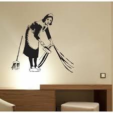 Banksy Wall Decal Wayfair