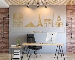Paris Skyline Wall Decal Kuarki Lifestyle Solutions