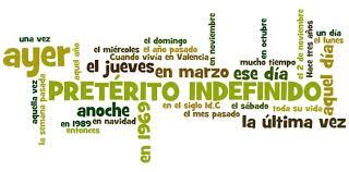 Resultado de imagem para preterito indefinido espanhol