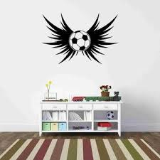 Sports Wall Decals Sport Wall Decor Soccer Wall Decal Style And Apply