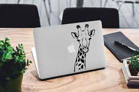 Giraffe Decal For Macbook Pro Sticker Vinyl Laptop Mac Notebook Safari Africa 13 Ebay