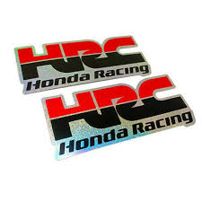 reflect black stickers hrc racing for