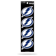 Rico Nhl Tampa Bay Lightning The Quad 4 Pack Auto Decal Car Sticker Se Sportzzone