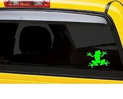 Frog Vinyl Decal Sticker Car Truck Laptop Netbook Window
