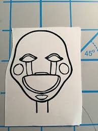Free Shipping Five Nights At Freddy S Puppet Fnaf Vinyl Decal You Pick Color Ebay