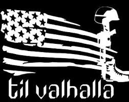 Fallen Soldier Decal Etsy
