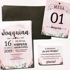 Invitaciones 15 Anos Cumpleanos Casamientos X 20 Un 900