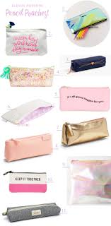 eleven awesome pencil pouches