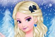 frozen makeup game