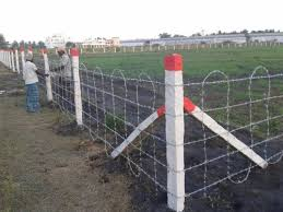 Barbed Wire Fencing Work Fencing Services S P Wires Pune Id 20587968962