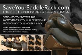 save your saddle rack