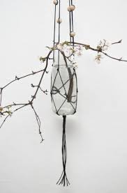 macrame wall hanging planter pot holder