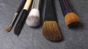 make up brushes in the washing machine