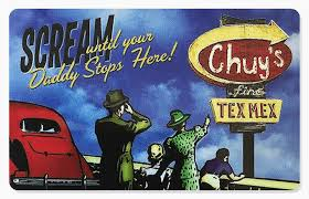 chuy s gift cards chuy s tex mex
