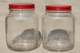 glass canisters for kitchen home
