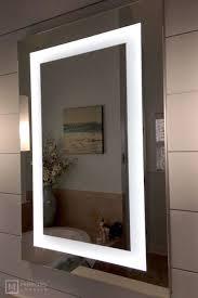 lighted led bathroom mirror medicine