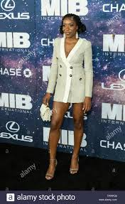 New York, NY - June 11, 2019: Ego Nwodim attends Men in Black:  International premiere at AMC Lincoln Center Stock Photo - Alamy