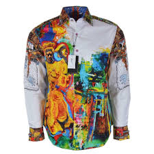 Shop Robert Graham THE YAKI WARRIOR Embroidered Studded Limited Edition  Shirt - Overstock - 28605190 - 4XL