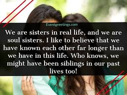 cute soul sister quotes to celebrate the bonding