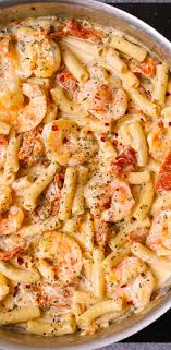 Sun Dried Tomato Pasta with Shrimp in ...