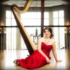 beautiful wedding event harp