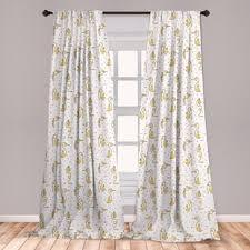 Monkey Curtains Wayfair