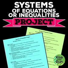 project system of equations or